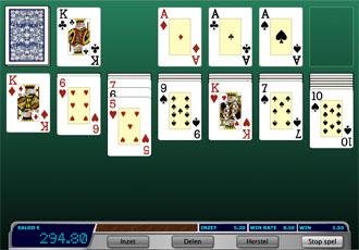 Patience voor geld spelen bij Oranje Casino